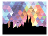 Cologne Triangle Prints