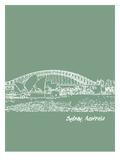 Skyline Sydney 6 Prints by Brooke Witt