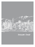 Skyline Vancouver 2 Prints by Brooke Witt