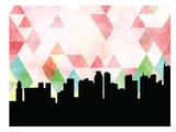Manila Triangle Print