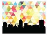 Fresno Triangle Print