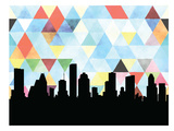 Houston Triangle Prints