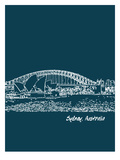 Skyline Sydney 3 Prints by Brooke Witt