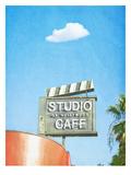 Lonely Skies Los Angeles Prints by Mina Teslaru