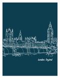 Skyline London 3 Print by Brooke Witt