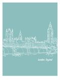 Skyline London 5 Poster by Brooke Witt