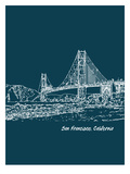 Skyline San Francisco 3 Prints by Brooke Witt