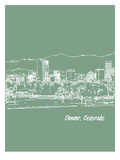 Skyline Denver 6 Prints by Brooke Witt