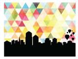 Albuquerque Triangle Posters