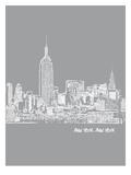 Skyline New York City 2 Prints by Brooke Witt