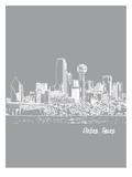 Skyline Dallas 2 Prints by Brooke Witt