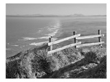 Pacific Ocean Seascape 51 B+W Print by Murray Bolesta