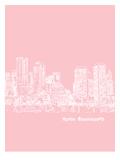 Skyline Boston 9 Prints by Brooke Witt