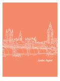 Skyline London 8 Posters by Brooke Witt