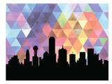 Dallas Triangle Prints