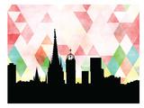 Barcelona Triangle Prints