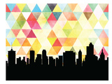 Tulsa Triangle Prints