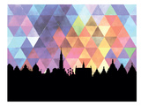 Brussels Triangle Prints