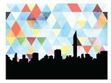 Mumbai Triangle Prints