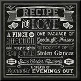 Thoughtful Recipes III Montert trykk av  Pela