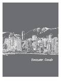Skyline Vancouver 1 Art by Brooke Witt