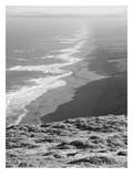 Pacific Ocean Seascape 59 B+W Print by Murray Bolesta
