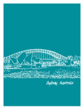 Skyline Sydney 4 Prints by Brooke Witt