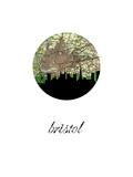 Bristol Map Skyline Prints