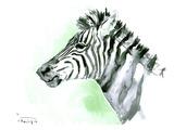 Zebra Posters by Suren Nersisyan