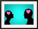 Think Love Posters by  Rudall30