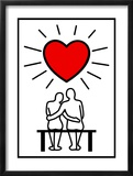 Couples In Love Prints by  Rudall30