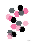 Geometric Hexagon Prints by Ashlee Rae