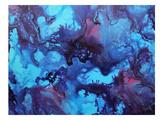 Blue Ink Poster von Deb McNaughton