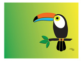 Toucan Posters by Ashlee Rae