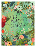 Be Grateful Posters by Mia Charro