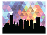 Oklahoma City Triangle Prints