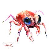 Baby Crab Poster by Suren Nersisyan