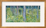 Undergrowth with Two Figures, 1890 Framed Giclee Print by Vincent van Gogh