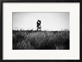 Figure in the Distance in Landscape Framed Photographic Print by Sharon Wish