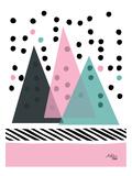 Mountain Rain Poster by Ashlee Rae