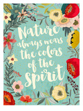 Nature Always Prints by Mia Charro