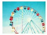 Jersey Ferris Poster by Mina Teslaru