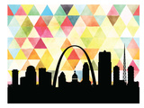 St Louis Triangle Posters