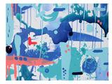Abstract Drips Poster by Deb McNaughton