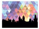 Prague Triangle Plakat