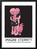 Jeremyville: Imagine Eternity Print by  Jeremyville