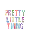 Pretty Little Thing Poster by Brett Wilson