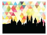 Praha Triangle Prints