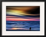 The Kiss Framed Photographic Print by Josh Adamski