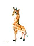 Baby Giraffe Prints by Suren Nersisyan